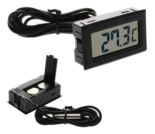 Termómetro Digital Nevera Refrigerador Acuario Carro+pilas