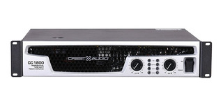 Amplificador Crest Cc-1800 Potencia Amplificador 1800w 101db