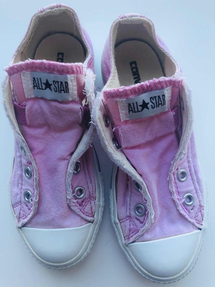 Zapatillas All Star Rosas Talle 31 (us13) Impecables!!!