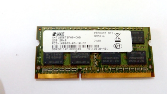 Memoria 2 Gb Smart 2rx8 Ddr3 1333mhz