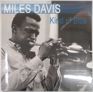Miles Davis Kind Of Blue Vinilo Nuevo Y Sellado Musicovinyl