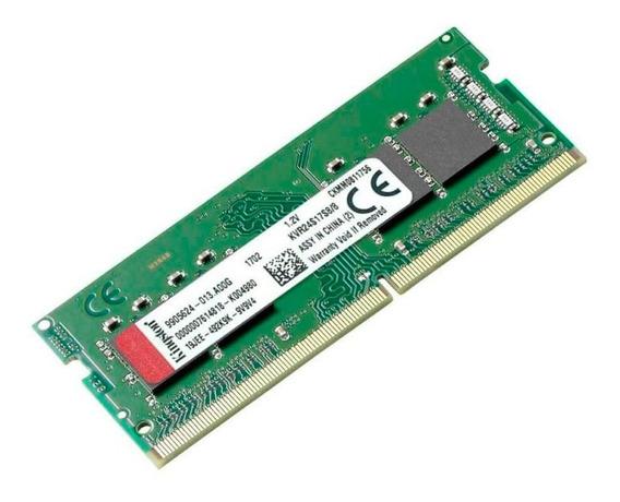Memoria Ram Sodimm Kingston 8gb Ddr4 2400mhz Notebook Mexx