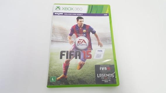 Jogo Fifa 15 - Xbox 360 - Original - Midia Física