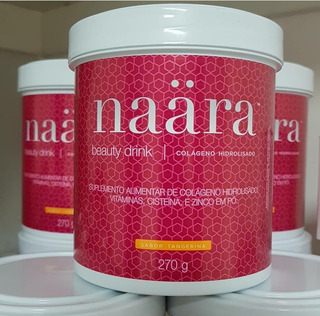 Colágeno Hidrolisado - Naära Beauty Drink Tangerina