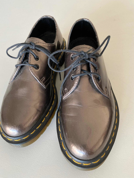 Dr Martens Originales Cobre Metalizados Uk3 Eur36 Us 5 Asc