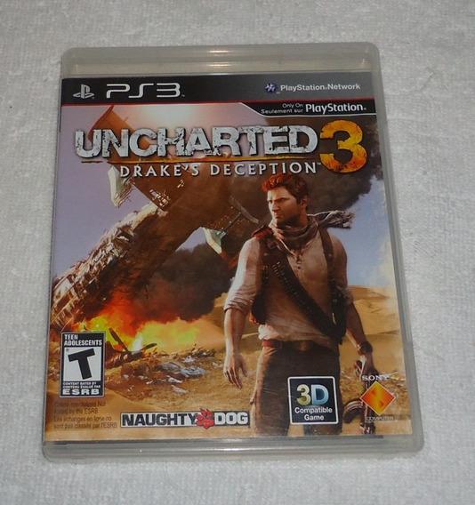 Uncharted 3 Ps3 Português ** Leia Frete Gratis