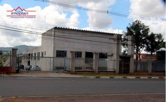 Galpão Comercial À Venda, Centro, Atibaia. - Ga0017