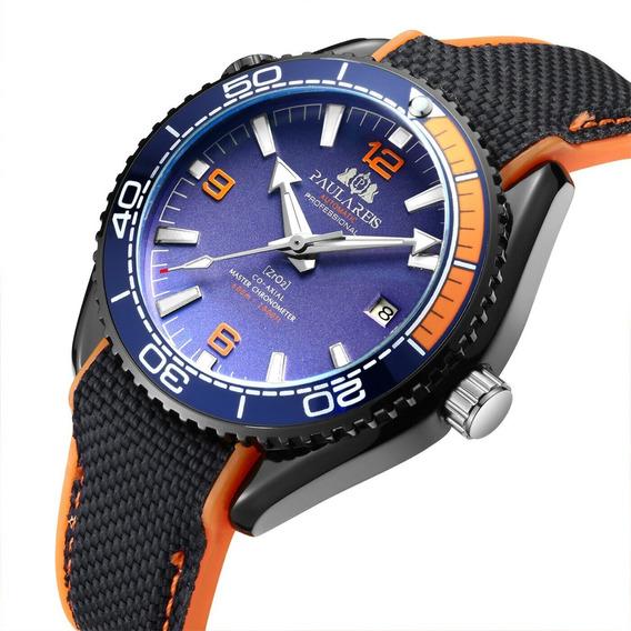 Relógio Masculino Mecânico Automático Paulareis