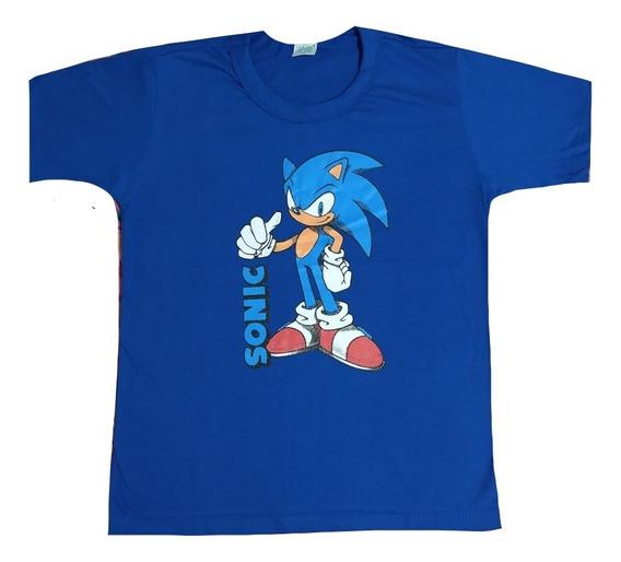 Kit 5 Camiseta Infantil Menino Herois Personagens Atacado