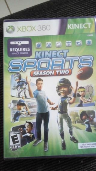 Xbox 360 Jogo Kinect Sports Season Two (original Lacrado)