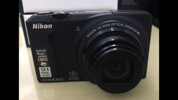 Nikon Coolpix D9100 Com Caixa Manual E Cd Em Perfeito Estado