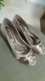 Sapato Ramarim Salto Baixo 38