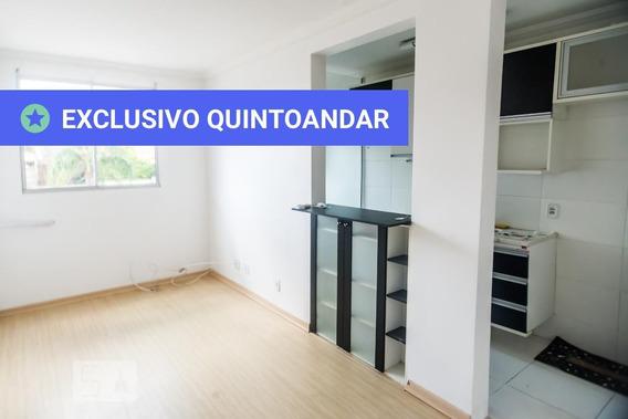 Apartamento No 2º Andar Mobiliado Com 2 Dormitórios E 1 Garagem - Id: 892945881 - 245881