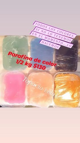 Parafina Con Color. Todos Los Colores!!!