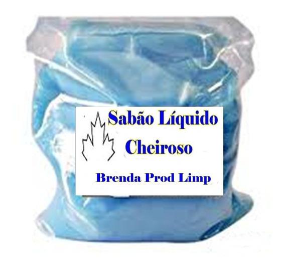 Kit Sabão Liquido Concentrado Base 100 Lts Material Limpeza