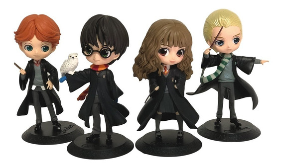 Conjunto Saga Harry Potter - Bandai Branpresto