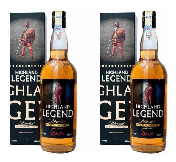 Whisky Highlands Legend 750 Ml, Promo 12+1