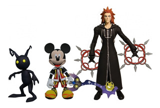 Kingdom Hearts Disney Figura Articulada Mickey Shadow Cf