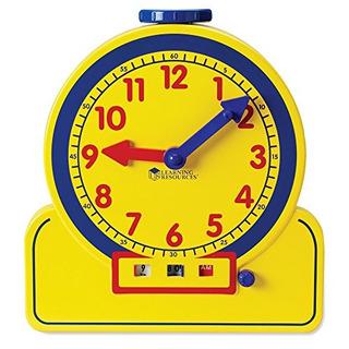 Recursos Aprendizaje Maestro Hora Primaria Reloj Aprendizaje