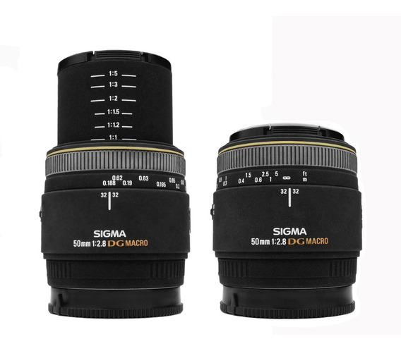 Objetiva Sigma 50mm F/2.8 Macro P/ Sony A-mount - Impecável