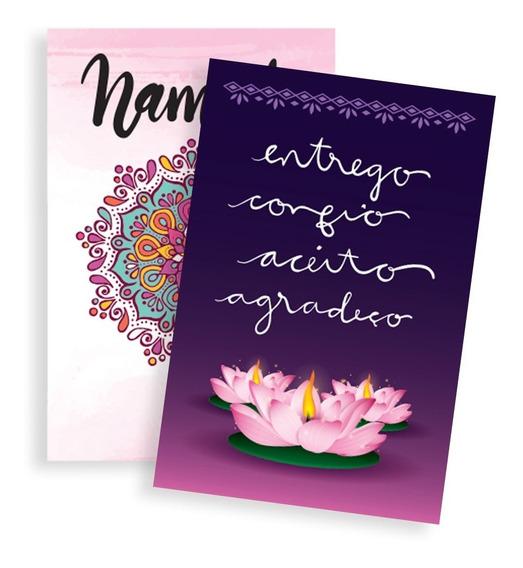 Livro Quadro Namaste