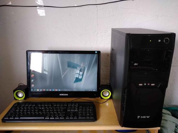 Computador Completo Tela 18.5 Core 2 Duo Hd 1tb 4gb Ddr3 Win