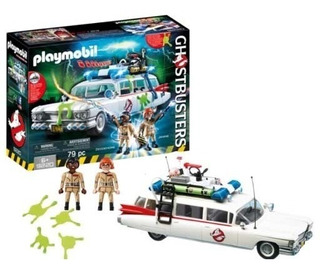 Playmobil Cazafantasmas Gohstbusters Auto Orig Palermo Znort