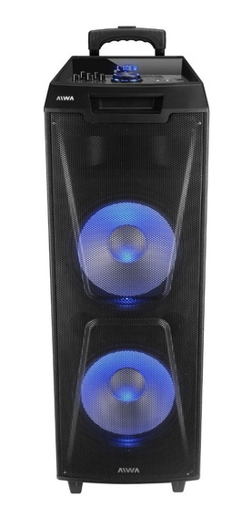 Equipo De Audio Aiwa Tower Speak Aw-t2400 12 X2 24000w Micr