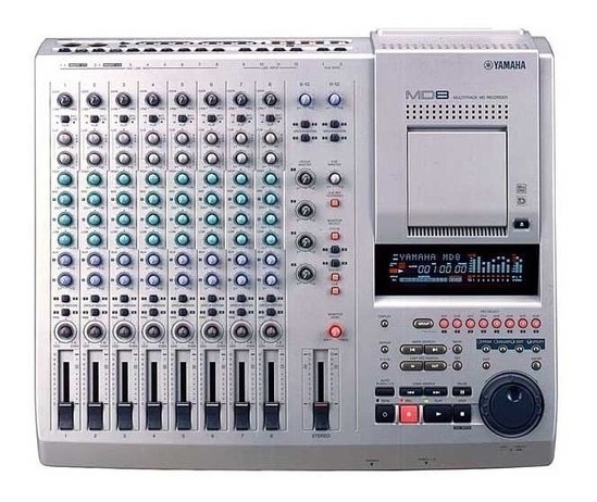 Mesa De Som Multitrack (md Recorder) 8 Canais - Yamaha Md8 -