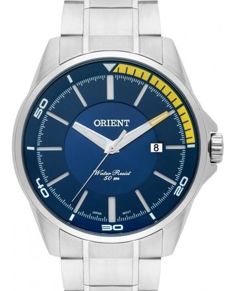 Relógio Orient Masculino Mbss1296 D1sx Azul