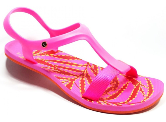 Sandália Kenner Lips Wing Sandal Leaves Twp Rosa Feminina