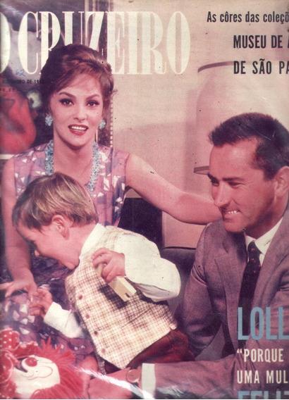 O Cruzeiro 1962.lollobigida.anapolis.usiminas.turismo.moda