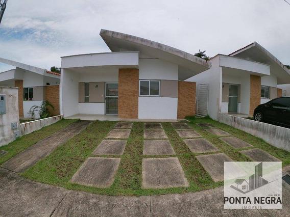 Casa Com 3 Dormitórios À Venda, 72 M² Por R$ 282.900 - Tarumã-açu - Manaus/am - Ca0084