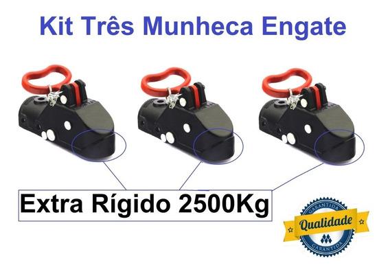 03 Munheca 2500kg Engate Carretinha Reboque Promoção