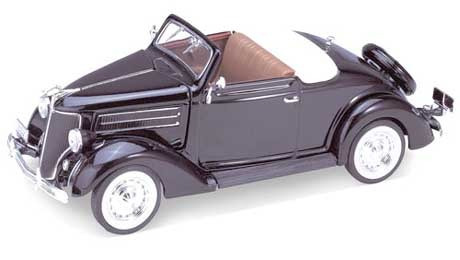 Ford Cabriolet 1936 Auto 1:24 Welly Lionels 2422