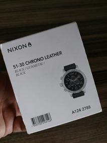 Relogio Nixon 51-30 Chrono Leather