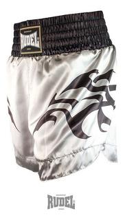Short Muay Thai Cetim Mt11 - Rudel