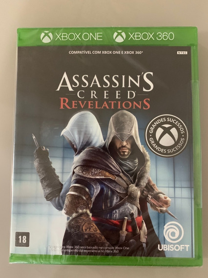 Assassins Creed Revelations Xbox One - Novo Lacrado!