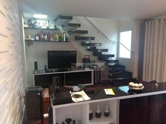 Cobertura Com 3 Dormitórios À Venda, 192 M² Por R$ 1.100.000 - Vila Dayse - São Bernardo Do Campo/sp - Co0074