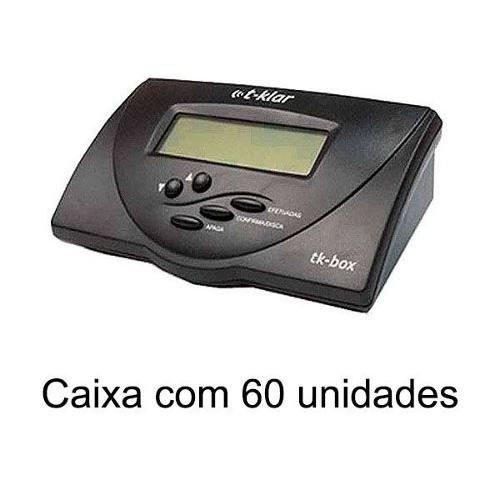 Identificador De Chamadas Bina T-klar Tk-box Preto Cx 60