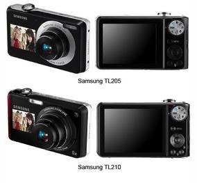 Camera Fotografica Samsung Tl205 Seminova 2 Lcds Selfie
