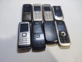 Kit 8 Celulares Nokia C/defeitos Variados #2817