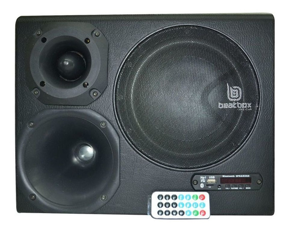 Caixa Churrasco Amplificada Bluetooth Corzus 8 Pol 300w Rms