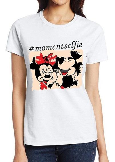 Roupa Feminina Tumblr Blusa Baby Look Camiseta Mickey Barato