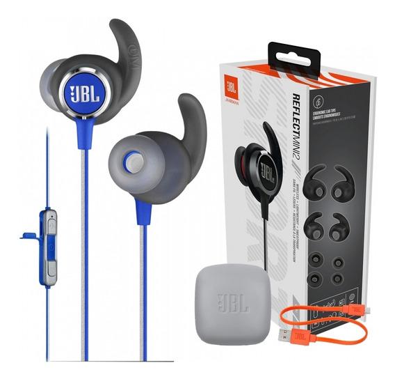Fone Jbl Reflect Contuor Mini 2 Bt Azul P Esporte C Ipx5 +nf