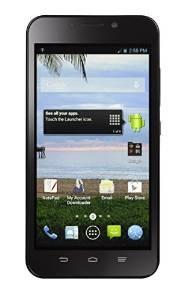 Zte Cuarzo 797c 5.5 Android Teléfono Prepagada Con Triples