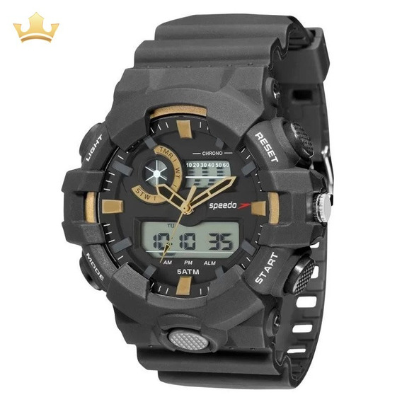 Relógio Speedo Masculino 81156g0evnp1 Com Nf
