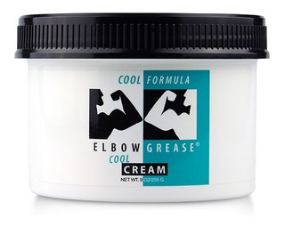 Lubricante Elbow Grease Cream Cool Formula 9 Oz Frio