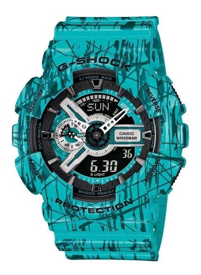 Reloj Hombre Casio Gshock Ga-110sl | Envío Gratis
