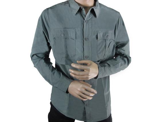 Camisas Casuales Caballeros Cat M2610235-l